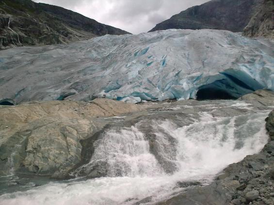 Nigardsglacier front 13.09.2010