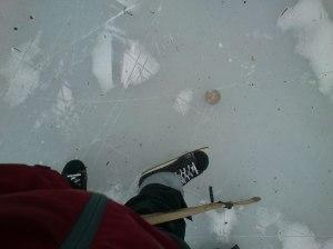 Simple fun on ice